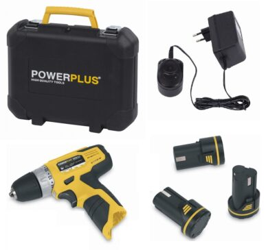POWER PLUS POWX0061LI Akušroubovák 10,8V 1,5Ah Li-ion  (7891123)