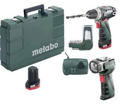 METABO 600080530 PowerMaxx BS Basic Akušroubovák 10,8V 2,0Ah set(7895669)