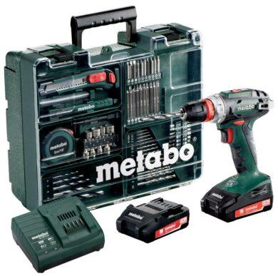 METABO 602217880 BS 18 Quick Akušroubovák 18V 2x2,0Ah s příslušenstvím(7897926)