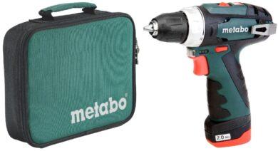 METABO 600079500 PowerMaxx BS Akušroubovák 10,8V 1x2,0Ah(7905014)