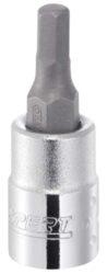 """EXPERT E030106 Hlavice imbus 1/4"""" DRIVE 6mm šroubovák-Hlavice zástrčná 6mm"""