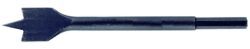 NAREX 836325 Vrták plochý kovaný 6HR 25mm-Vrták do dřeva plochý kovaný D25mm, L140mm, stopka 6HR 8mm