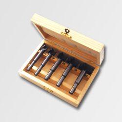 Sada sukovníků HSS 5dílná v kazetě MAGG WJD08-Sada sukovníků HSS HOBBY v kazetě 5dílná 15, 20, 25, 30, 35 mm