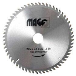 MAGG 9320560 Pilový kotouč HOBBY SK 205x2,5x30 60z