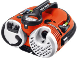 BLACK DECKER ASI500 Kompresor bezolejový 11bar MINI 12V - Multifunkční kompresor a pumpička BLACK & DECKER ASI 500