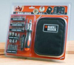 BLACK DECKER A7104 Sada nástavců 50dílná-Sada nářadí Black&Decker A7104 56 dílů: