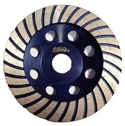 MAGG DBK-H115 Kotouč diamantový brusný 115x22,2mm na beton-Diamantový kotouč brusný MAGG
