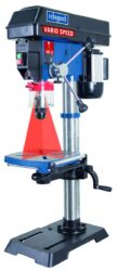 SCHEPPACH DP 18 VARIO /5906807901/ Stolní vrtačka 550W s laserem                -Stolní vrtačka 550W s laserem,plynulá regulace otáček