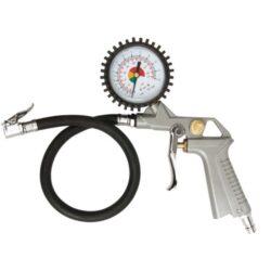 MAGG 990003 Pneuhustič s manometrem-Plnič pneumatik s manometrem 2-6bar MAGG 2,8-10mPa
