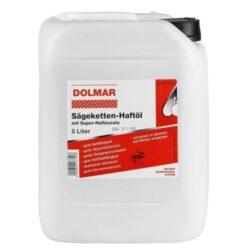 DOLMAR 988002258 Olej řetězový 5L-Olej na mazání řetězů motorových i elektrických pil