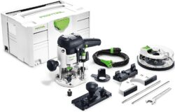 FESTOOL 574383 OF 1010 EBQ Plus Frézka horní 1010W + BOX OF S8 - Horní frézka OF 1010 EBQ-Plus + Box-OF-S 8/10x HW