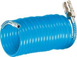 AIRCRAFT 2115608 Hadice pneu spirálová 7,5m 10bar-Spirálová polyuretanová hadice 7,5 m, 6 mm, 10 bar