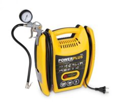 POWER PLUS POWX1705 Kompresor bezolejový 1100W 8bar-Kompresor 1100W + 5 ks přísl. bezolejový