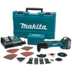 MAKITA BTM50RFEX4 Aku bruska multi 18V 3,0Ah MULTITOOL-Univerzální stroj pro širokou škálu použití