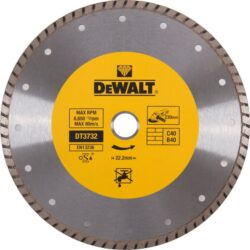 DEWALT DT3732 Kotouč diamantový 230mm Turbo-DIA kotouč Turbo na zdící materiály 230 mm