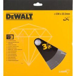 DEWALT DT3763 Kotouč diamantový 230mm-DIA kotouč na tvrdé materiály a žulu 230 mm