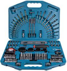 MAKITA P-52037 Sada vrtáků a nástavců v kufru 102dílná-Sada 102 kusů vrtáků a bitů v plastovém kufříku