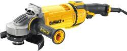 DEWALT DWE4597-QS Bruska úhlová 180mm 2400W-Velká úhlová bruska 180 mm pro náročné práce - 2 600 W