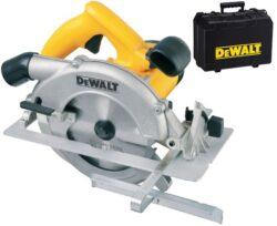 DEWALT DWE560K-QS Pila kotoučová 1350W 184mm-Kompaktní kotoučová pila s hloubkou řezu 65 mm