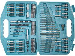 MAKITA P-30835 Sada vrtáků a nástavců v kufru 99dílná-Sada 99 kusů vrtáků a bitů v plastovém kufříku
