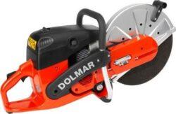 DOLMAR PC7412 Rozbrušovačka benzínová 300mm-Benzinová rozbrušovací pila 3,8kW,300mm