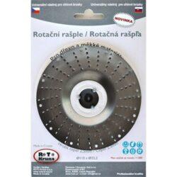 MAGG ROTO11525 Rotační rašple hrubá 115x22,2x2,5mm pro úhlové brusky