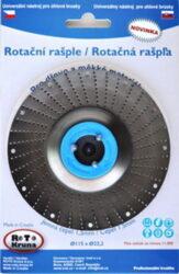 MAGG ROTO11515 Rotační rašple jemná 115x22,2x1,5mm pro úhlové brusky
