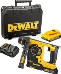 DEWALT DCH243D2-QW Aku kladivo kombi 18V 2,0Ah Li-ion-Výkonné kompaktní jednoúčelové kladivo 18 V XR Li-Ion se 3 provozními režimy