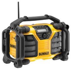 DEWALT DCR016-QW Aku přenosné rádio 10,8-18V (bez akumulátoru)-Aku radio AM / FM bez aku