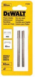 DEWALT DT3905 Nůž do hoblíku 82mm HSS-Hoblovací nože 82 mm, 1 pár