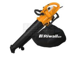 Vysavač/ofukovač 3000W s regulací RIWALL REBV 3000-Vysavač/foukač s elektrickým motorem 3000 W