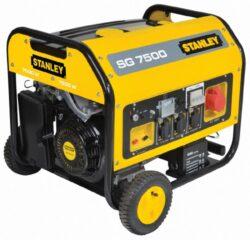 STANLEY 160.100.380 Elektrocentrála 7500W SG7500-Elektrocentrála 7500W SG7500