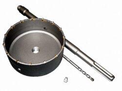 MAGG 27100150 Vrtací korunka D150mm L400mm SDS+-Příklepová vrtací korunka průměr 150mm se stopkou 400mm SDS MAX