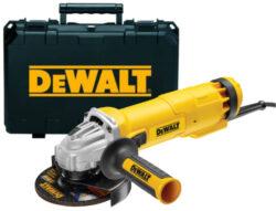 DEWALT DWE4207K-QS Bruska úhlová 125mm 1010W v kufru-Bruska úhlová 125mm 1010W v kufru
