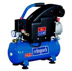 SCHEPPACH HC 08 /5906119901/ Kompresor olejový 8L 1100W 1,5PS 155L/min 8bar-Kompresor olejový 8L 1100W 1,5PS 155L/min 8bar