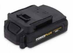 POWER PLUS POWX00593 Akušroubovák 18V 3x1,5Ah Li-ion s příslušenstvím 79ks(7902975)