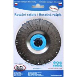 MAGG ROTO12515 Rotační rašple jemná 125x22,2x1,5mm pro úhlové brusky