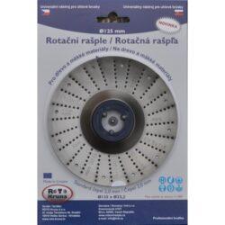 MAGG ROTO12520 Rotační rašple standard 125x22,2x2,0mm pro úhlové brusky