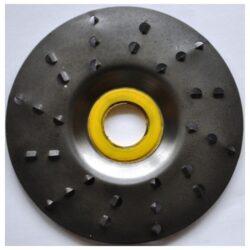MAGG ROTO1256A Rotační rašple extra hrubá 125x22,2x6,0mm pro úhlové brusky