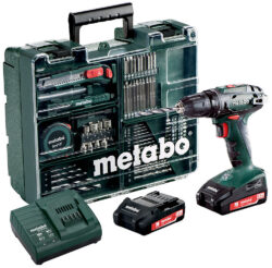 METABO 602207880 Akušroubovák 18V 2x2,0Ah BS 18+ příslušenství-Akušroubovák 18V 2x2,0Ah příslušenství