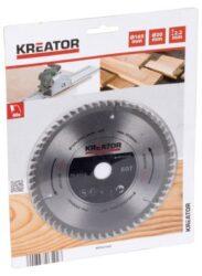 KREATOR KRT021602 Pilový kotouč SK 165x20 60z-Pilový kotouč SK 165x20 60z