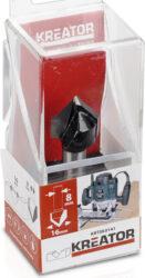 KREATOR KRT060141 Fréza drážkovací špice 90° D16 S8-Fréza drážkovací špice 90° D16 S8