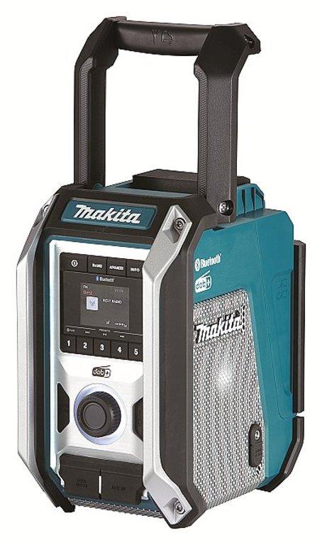 MAKITA DMR115 Aku rádio FM/DAB/DAB+ Bluetooth 7,2-18V/230V IP64 (bez aku)