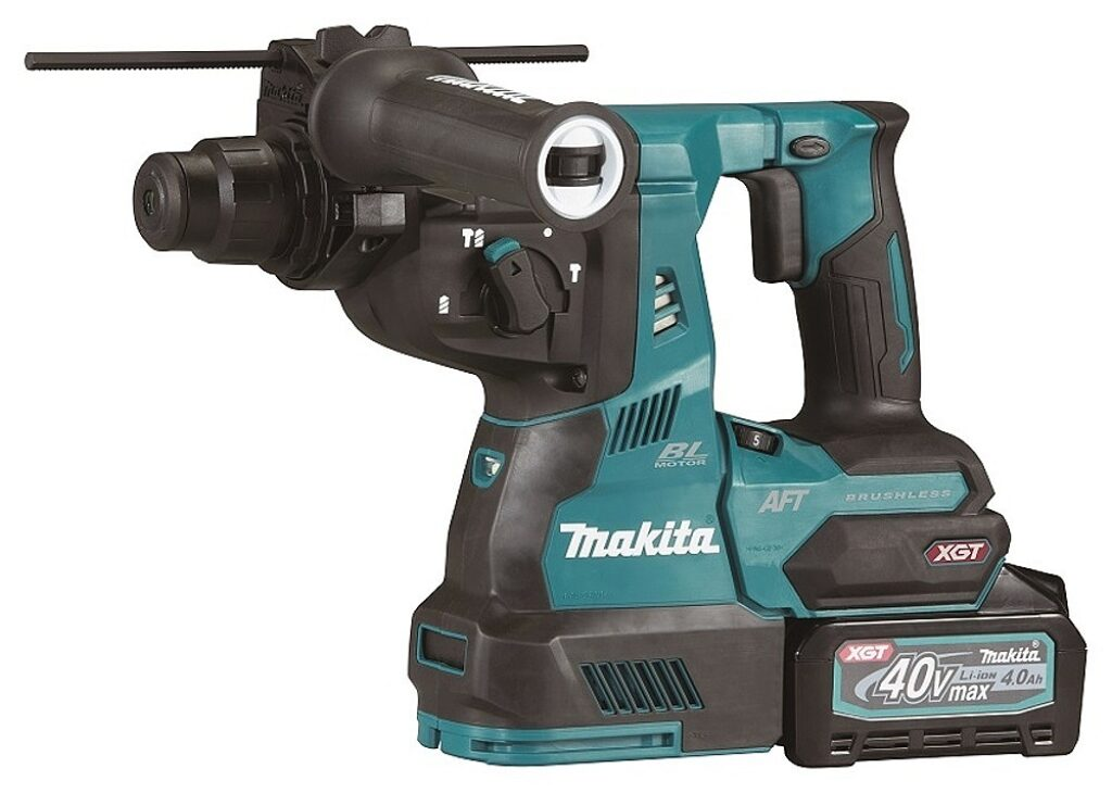 MAKITA HR001GM202 Aku kladivo vrtací 40,V 4,0Ah Li-Ion XGT AWS SDS-plus
