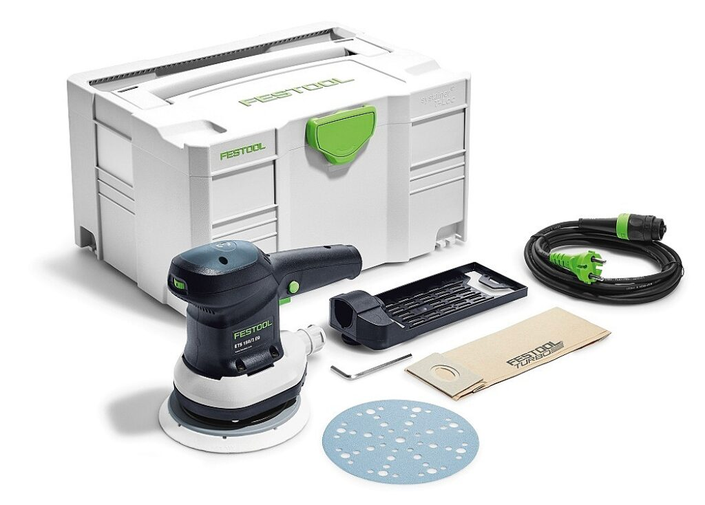 FESTOOL 575022 Bruska excentrická 150mm ETS 150/3 EQ Plus