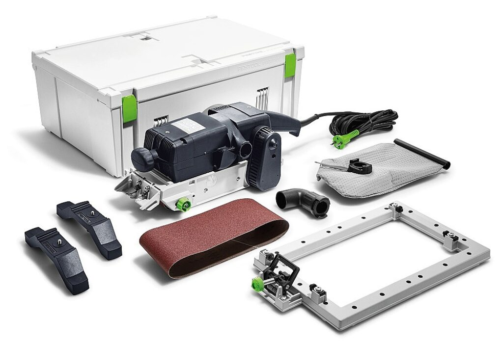 FESTOOL 575768 Bruska pásová BS 105 E SET