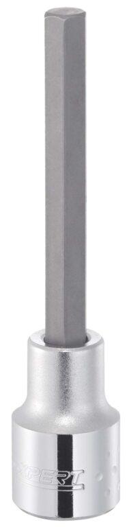 """EXPERT E031917 Hlavice prodloužená 1/2"""" DRIVE 12mm inbus (imbus) L100mm"""