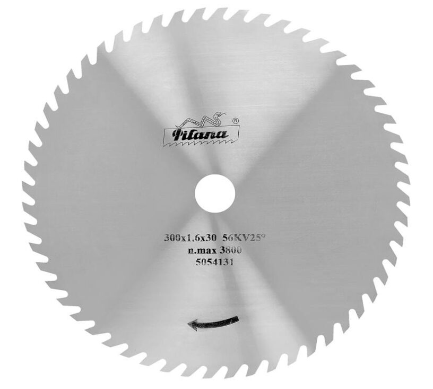 PILANA 225310-56KV25° Pilový kotouč 550x3,0x30 56z