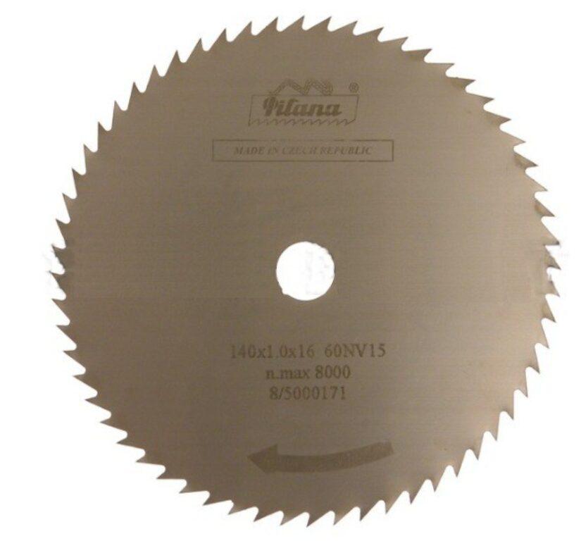 PILANA 225316.4-KV15° Pilový kotouč 140x1,0x16 60z
