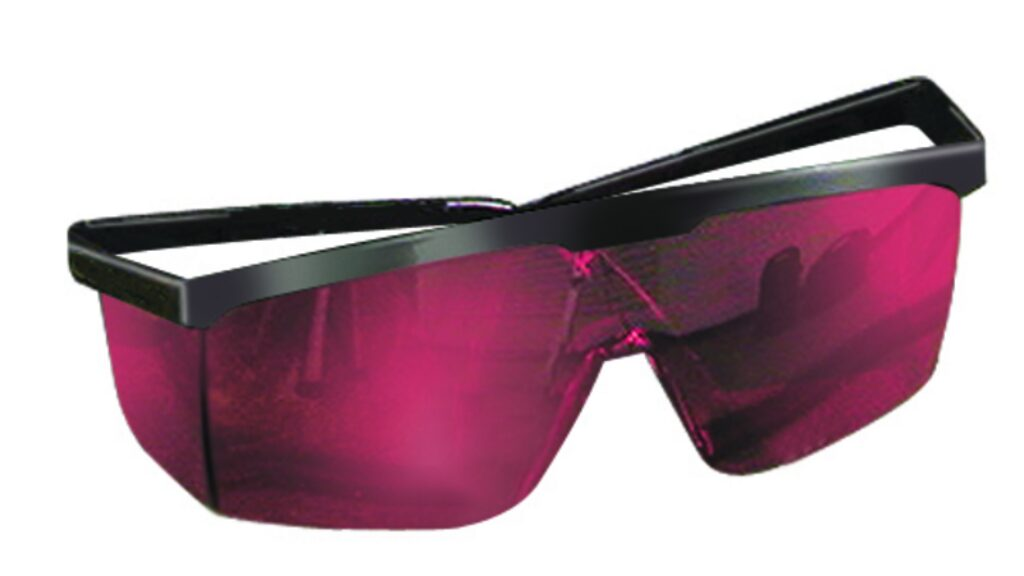STANLEY 1-77-171 Brýle pro zýraznění paprsku laseru červené
